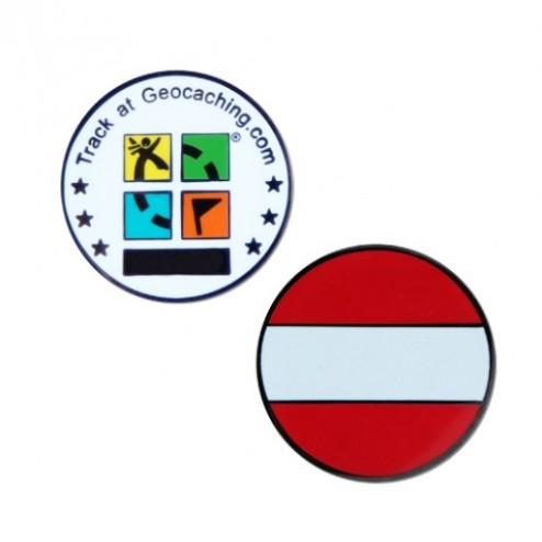 Country Micro Geocoin - Austria