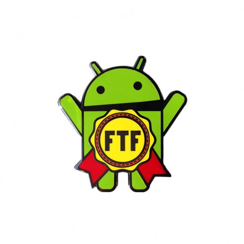 Android Freddy FTF Geocoin