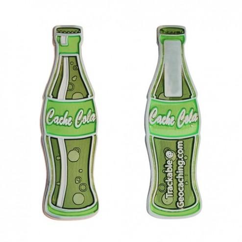 Cache Cola Lime Geocoin