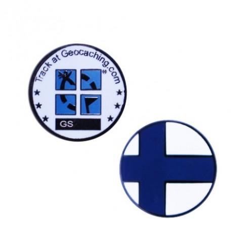 Country Micro Geocoin - Finland