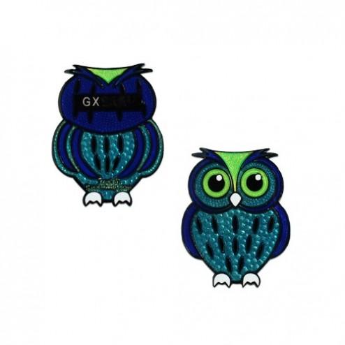 Babyeule Owl Eulenkinder - Seahawk Micro Geocoin