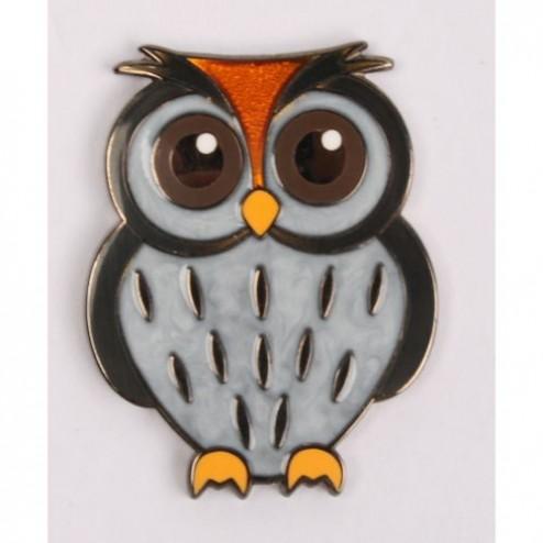 Babyeule Owl Eulenkinder - Snow Micro Geocoin