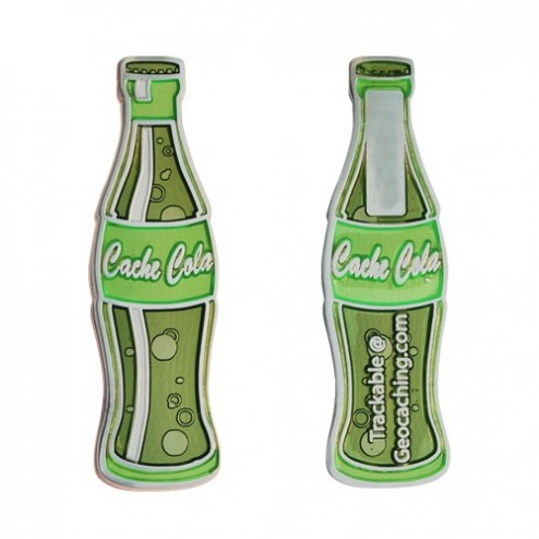 Cache Cola Lime Geocoin