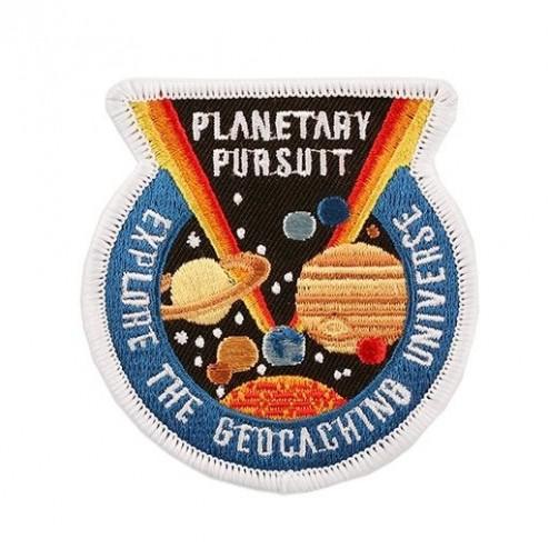 Planetary Pursuit Aufnäher
