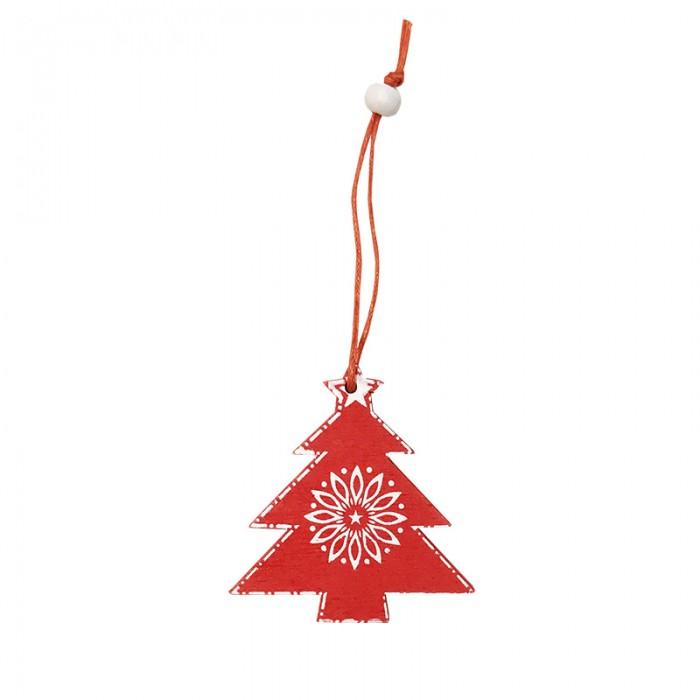 weihnachtsschmuck tannenbaum rot wei aus holz trackbar. Black Bedroom Furniture Sets. Home Design Ideas