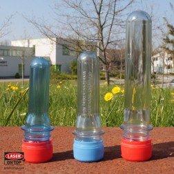 PETling L, verschiedene Farben, belasert, inklusive gratis FTF-Stecklingen, 3er Set