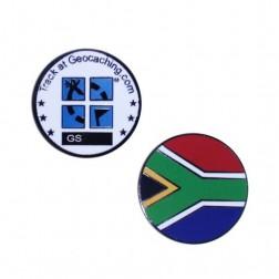 Country Micro Geocoin - Südafrika