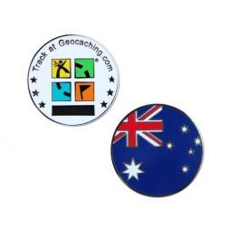 Country Micro Geocoin - Australien