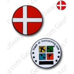 Country Micro Geocoin - Dänemark
