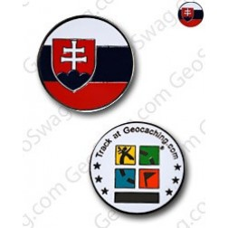Country Micro Geocoin - Slowakei