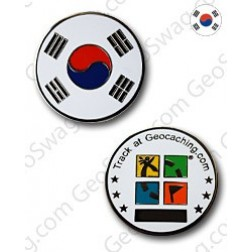 Country Micro Geocoin - Süd Korea