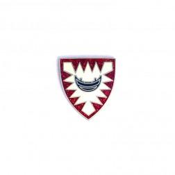 Kieler Wappen Silber Micro Geocoin