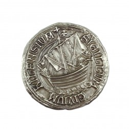 Kiel Siegel Antique Silber Geocoin