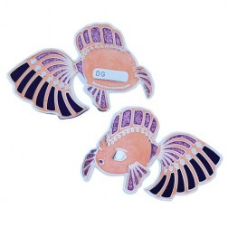 Dream Fish Pink Geocoin