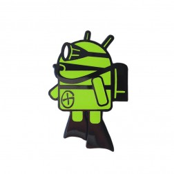 Android Danny Diver Geocoin