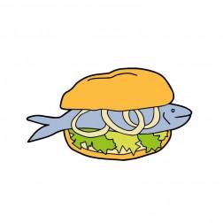 Fischbrötchen Event Kiel Geocoin