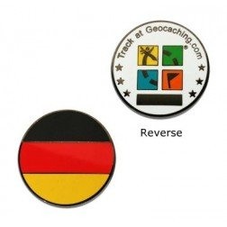 Country Micro Geocoin - Deutschland