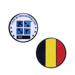 Country Micro Geocoin - Belgien