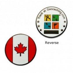 Country Micro Geocoin - Kanada