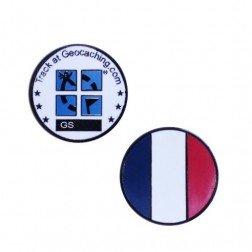 Country Micro Geocoin - Frankreich