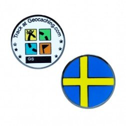 Country Micro Geocoin - Schweden
