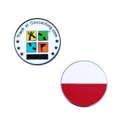 Country Micro Geocoin - Polen