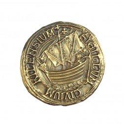 Kiel Siegel Antique Gold Geocoin