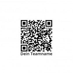 Geocaching Stempel mit QR Code und Teamname optional