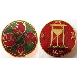 Time Lord - Yule Early Winter Geocoin