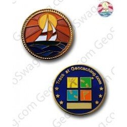 Sailboat Micro Geocoin