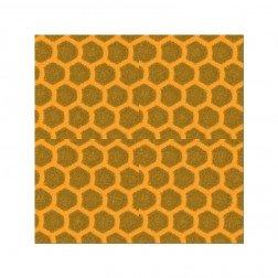 Reflektorfolie gelb 10x10 cm