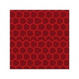 Reflektorfolie rot 10x10 cm