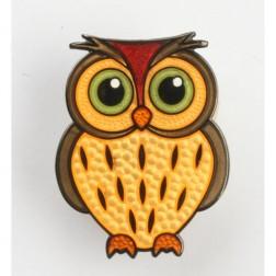 Babyeule Owl Eulenkinder - Tawny Micro Geocoin