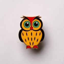 Babyeule Owl Eulenkinder - Ulmer Micro Geocoin