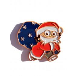 Xmas Christmas Weihnachts Mainzelmännchen Det Antik Kupfer Geocoin