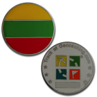Country Micro Geocoin - Litauen