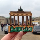 3D Wood Geocoin XXL Brandenburger Tor - Trackable Kollektion