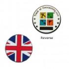 Country Micro Geocoin - Groß Brittanien