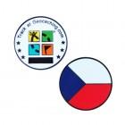 Country Micro Geocoin - Tschechische Republik