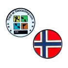 Country Micro Geocoin - Norwegen
