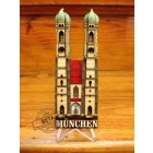 3D Wood Geocoin XXL Münchener Frauenkirche - Trackable Kollektion