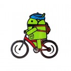 Android Billy Bicycle Geocoin