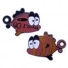 Go Fish orange Geocoin