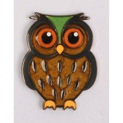 Babyeule Owl Eulenkinder - Eagle Micro Geocoin