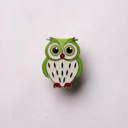 Babyeule Owl Eulenkinder - Kiwi Micro Geocoin